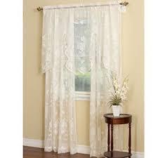 Amazon Lace Kitchen Curtains by Lace Kitchen Curtains Amazon Com