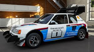 Legendary Peugeot 205 T16 and More in New Forza 6 Car List GTspirit
