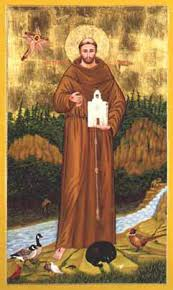 francis of assisi icon by terrance nelson