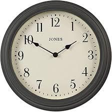 jones clocks die venezianische wanduhr große klassische wanduhr perfekt für die küche wohnzimmer büro haus 30cm