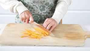 Knife Skills The Julienne Cut
