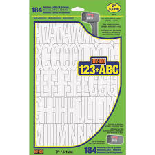 HyKo Vinyl Letters Numbers Symbols 30014 Do It Best