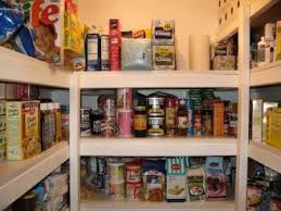 walk in pantry wood shelves or wire shelves