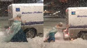 Man Dressed As Elsa From 'Frozen' Frees Police Truck Stuck In Snow ... Off Road And Stuck Reality Youngstown Plow Truck Gets In Sink Hole Truck Snow Youtube Fire Stuck Snow Tow411 In Snowbank Or Ditch Stock Photo Image Of Plowed Photos Boston Endures Another Winter Storm Wbur News Dsci1383jpg Id 597894 Semi How To Get Your Car Unstuck From Ice Aamco Colorado Heavy Snowfall Hit Tokyo Pictures Getty Images Big New York City Sanitation Forever Snowy Night Tractor Trailer Slips On The Road Winter Video