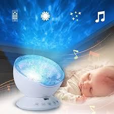 ledmomo schlaf projektion led nachtlicht le mit 7 lichtmodus fernbedienung entspannende lichtshow für baby kinder und erwachsene stimmungslicht