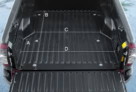 Pickup Bed Mats by Detailed Bed Dimensions Tacoma World