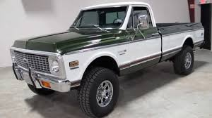 100 Chevy Trucks For Sale In Texas 72 Cheyenne Super 4 Speed Ac 4x4 For Sale In Sold
