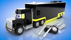 100 Youtube Trucks For Kids Assembling Giant Transporter Truck For Kids And Cars For