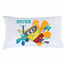Spongebob Toddler Bedding by Spongebob Squarepants Snorkel Pillowcase Bedding U0026 Blankets