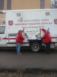 100 Salvation Army Truck S FillA This Christmas Event Set For