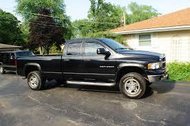 100 2003 Dodge Truck Ram Black 2500 Hemi Heavy Duty SLT 4x4 Sale