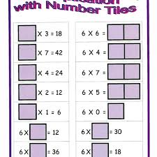 mc10 on math centre activities multiplication with number