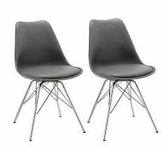 stühle möbel wohnen 2er set esszimmerstuhl grau stuhl