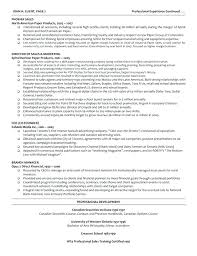 Director Resume Sample Sales Manager Doc