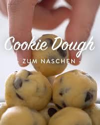 cookie dough selber machen das grundrezept ohne ei