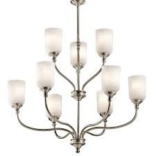 Kichler 43652AP Antique Pewter Lilah Chandelier With 9Lights 37
