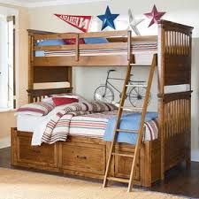 Kids Twin Over Full Bunk Beds Country Willow Kids