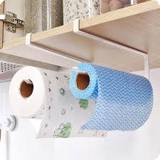 großhandel praktische küche toilettenpapier handtuchhalter papierhandtuchrollenhalter schrank hängen regal organizer bad küche zubehör mp917 11 1