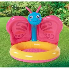 Walmart Inflatable Halloween Cat by Play Day Butterfly Baby Pool Walmart Com