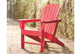 Sundown Treasure Adirondack Chair | Ashley Furniture HomeStore Outdoor Patio Seating Garden Adirondack Chair In Red Heavy Teak Pair Set Save Barlow Tyrie Classic Stonegate Designs Wooden Double With Table Model Sscsn150 Stamm Solid Wood Rocking Westport Quality New England Luxury Hardwood Sundown Tasure Ashley Fniture Homestore 10 Best Chairs Reviewed 2019 Certified Sconset Polywood Official Store