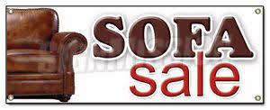 Image Is Loading SOFA SALE BANNER SIGN Couch Furniture Store Signs