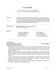 Commercial Banker Resume Sample Examples 1