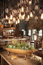 Rustic Chic Dining Room Ideas by Best 25 Rustic Restaurant Ideas Only On Pinterest Rustic