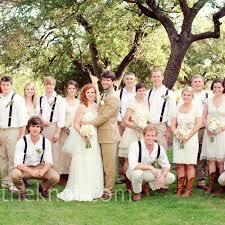 Rustic Wedding Party