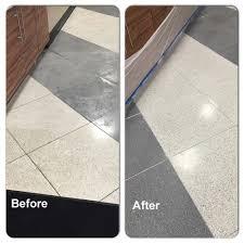 Terrazzo Floor Cleaning Tips by Epoxy Terrazzo Vs Cement Terrazzo The Pros U0026 Cons Written In Stone