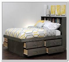 Queen Bed Storage Platform Bed Queen