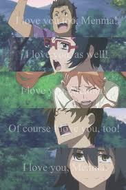 ano hana anime drama cry friends tragedy sad ghost