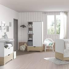 chambre bois blanc chambre bebe bois blanc commode bb pepper blanche et bois with