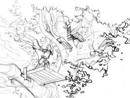 Magic Tree House Coloring Sheets Colorine Net 2229