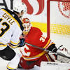 How the Bruins overcame a wild start to defeat the Flames