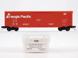 N Scale Micro-Trains MTL 39130 TPFX Triangle Pacific 50' Plug Door ...