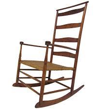 No 7 Slat Back Shaker Rocker Rocking Chairs Shaker Antique ...