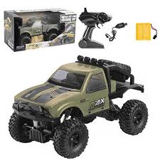 100 Semi Truck Toy US 127 28 OFFRemote Control Military Toy Car 24G 116 2WD Mini Off Road RC Truck RTR Kids Climb Kid Gifts Z423in RC Cars From