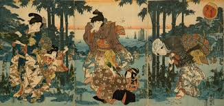 Famous Japanese Painting Of Ancient Dance Art