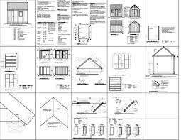 Saltbox Shed Plans 10x12 by Chapter 10 X 12 Saltbox Shed Plans Free Lk Mickhael