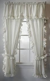 cape cod white ruffled curtains paul s home fashions