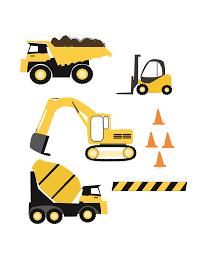 Construction Trucks SVG Files