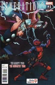 Marvel Comicss Generations Unworthy Thor Mighty Issue 1gamestop