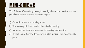 Sea Floor Spreading Model Worksheet Answers by Plate Tectonics Essential Question Ppt Video Online Download