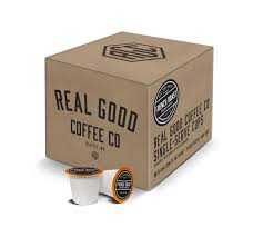 Real Good Coffee Co Recyclable K Cups French Roast Dark For Keurig