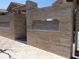 100 Travertine Facade Marble Faade Mrmoles Santa Catalina