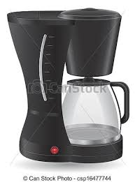 Coffee Maker Vector Illustration
