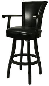Black Leather Bar Stools by Pastel Minson Bar Stools Collection 26