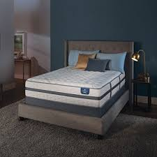 Serta Perfect Sleeper Air Mattress With Headboard by Serta Perfect Sleeper Luxury Hybrid Oakbridge Ii Firm Queen