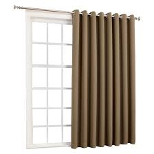 patio door grommet curtains target