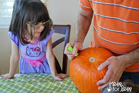 Pumpkin Carving Tool Kit Walmart by Making Memories Family Pumpkin Carving Mess For Less